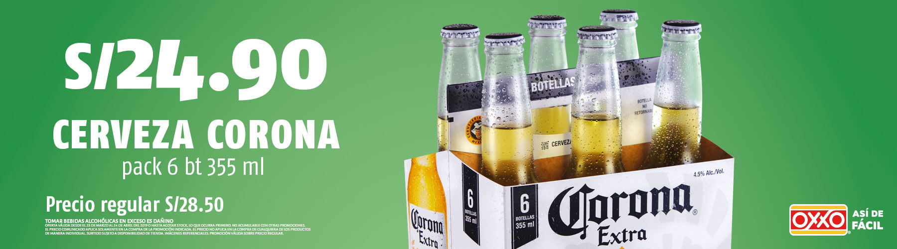 Promocion Cerveza Corona